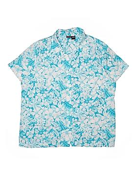 North Crest Short Sleeve Button-Down Shirt Size 18/20 (Plus)