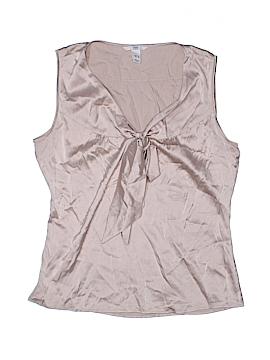 H&M Sleeveless Silk Top Size 8