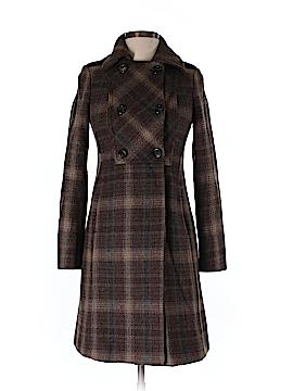 United Colors Of Benetton Wool Coat Size 38 (EU)