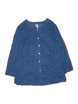 Match Point U.S.A. 3/4 Sleeve Blouse Size S