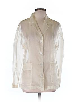 Apriori Long Sleeve Silk Top Size 10