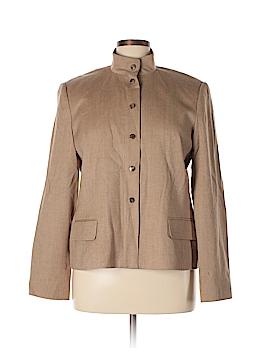 Linda Allard Ellen Tracy Wool Blazer Size 16