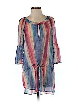 Vix by Paula Hermanny 3/4 Sleeve Silk Top Size S