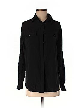 Yumi Kim Long Sleeve Silk Top Size M