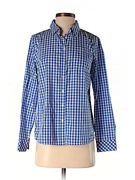 Talula Babaton Short Sleeve Button-Down Shirt Size 8 (Petite)