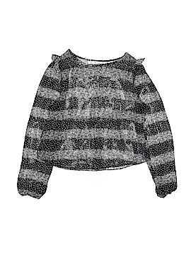 Olsenboye Long Sleeve Blouse Size S