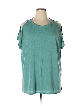 JunaRose Short Sleeve Top Size 0X (Plus)
