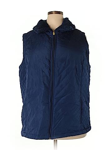 Denim & Co Vest Size 3X (Plus)