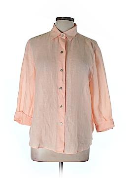 Linda Allard Ellen Tracy Long Sleeve Blouse Size 14