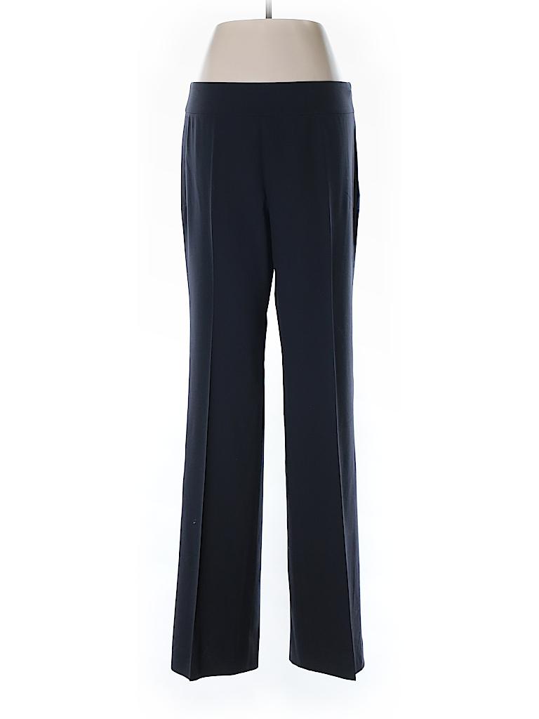 Neiman Marcus Solid Dark Blue Dress Pants Size 6 97 Off Thredup