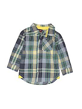 Tea Long Sleeve Button-Down Shirt Size 12-18 mo