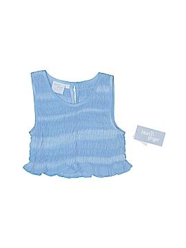 Blue Ginger Sleeveless Blouse Size 8