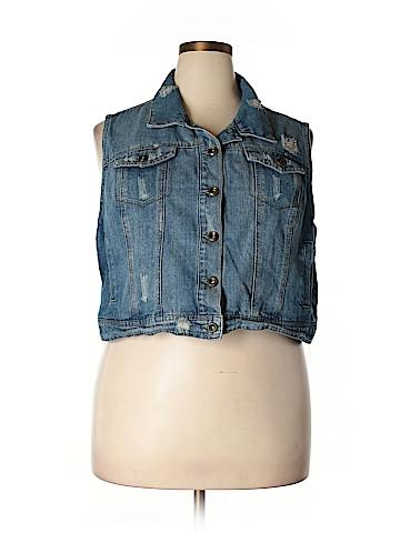 Highway Jeans Denim Vest Size 3X (Plus)