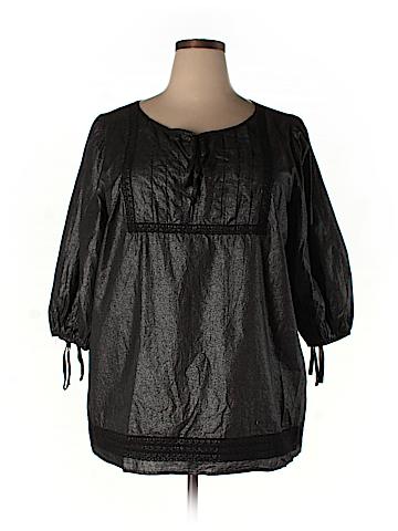 Karen Kane 3/4 Sleeve Blouse Size 2X (Plus)