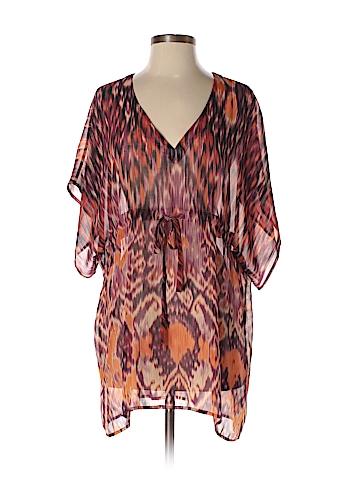 CAbi Short Sleeve Blouse Size M