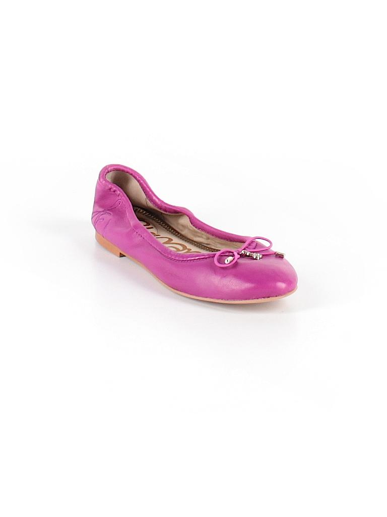3987284b891ccc Sam Edelman Solid Purple Flats Size 4 - 72% off