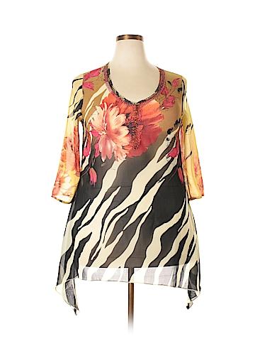 Mechant 3/4 Sleeve Blouse Size XL