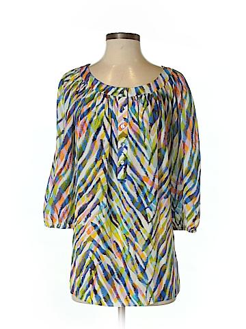 Trina Turk 3/4 Sleeve Blouse Size M