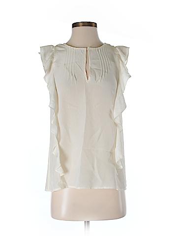 J. Crew Short Sleeve Silk Top Size 00