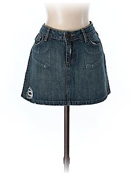 Lux Denim Skirt 30 Waist