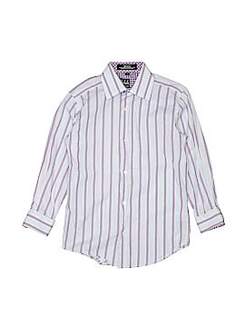 Ike Behar Long Sleeve Button-Down Shirt Size 7