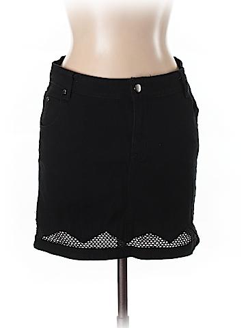 Mink Pink Denim Skirt Size L