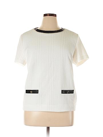 Karl Lagerfeld Paris Short Sleeve Top Size XL