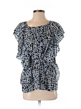 Jennifer Reale Design Short Sleeve Blouse Size S