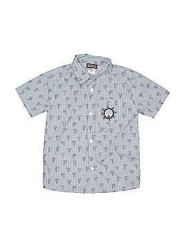 Z Boys Wear Short Sleeve Button-Down Shirt Size 7