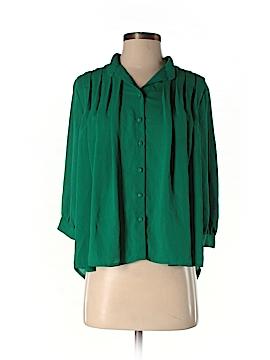 Chandi & Lia 3/4 Sleeve Blouse Size XS