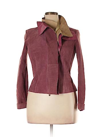 Escada Leather Jacket Size 38 (EU)
