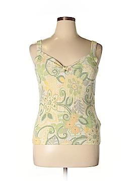 Sigrid Olsen Sleeveless Silk Top Size L