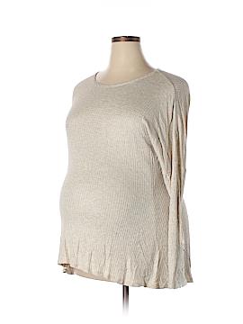 Ma Cherie Maternity Long Sleeve Top Size XL (Maternity)