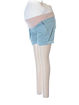 Liverpool Jeans Company Khaki Shorts Size 8 (Maternity)