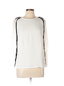 Maje Long Sleeve Blouse Size Lg (3)