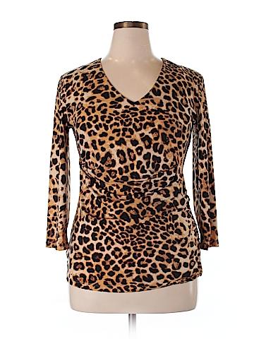 Anne Klein 3/4 Sleeve Top Size XL