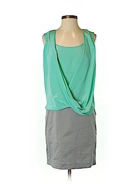 Suzi Chin for Maggy Boutique Casual Dress Size 2 (Petite)