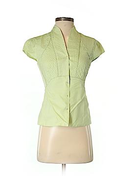 J. Peterman Short Sleeve Button-Down Shirt Size 2