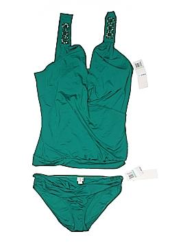 Badgley Mischka Two Piece Swimsuit Size 8