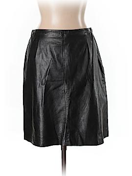 Ann Taylor LOFT Leather Skirt Size 10