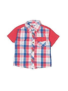 Beebay Short Sleeve Button-Down Shirt Size 18-24 mo