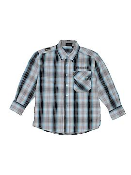 Akademiks Long Sleeve Button-Down Shirt Size 7