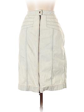 Pilcro and The Letterpress Denim Skirt Size 10