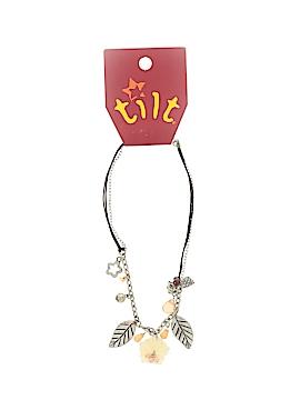 Tilt Necklace One Size