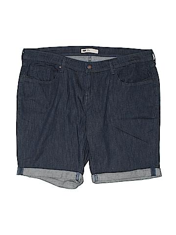 Levi Strauss Signature Denim Shorts Size 22 (Plus)