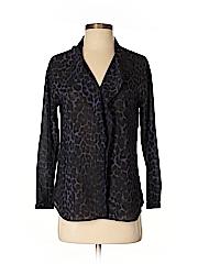 Ann Taylor Women Long Sleeve Blouse Size S (Petite)