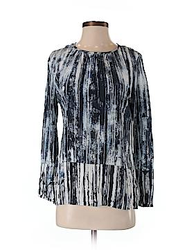 Ecru Long Sleeve Blouse Size S