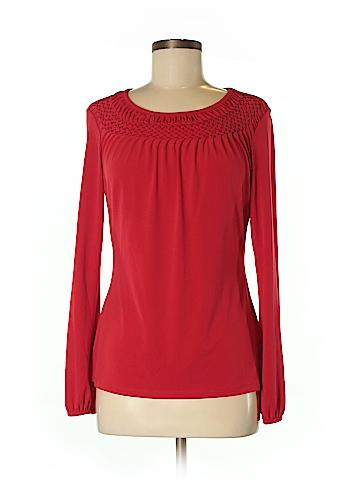Worthington Long Sleeve Blouse Size M
