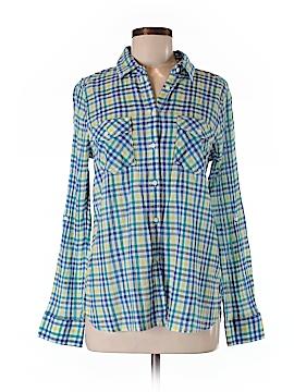 Sono Vaso Long Sleeve Button-Down Shirt Size M
