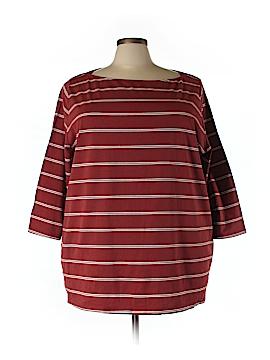 Ava & Viv 3/4 Sleeve Top Size 3X (Plus)